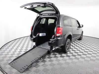 New Wheelchair Van for Sale - 2018 Dodge Grand Caravan GT Wheelchair Accessible Van VIN: 2C4RDGEG5JR239111