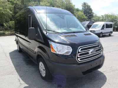 New Wheelchair Van for Sale - 2019 Ford Transit Passenger Mid-Roof 350 XLT - 15 Wheelchair Accessible Van VIN: 1FBAX2CM0KKA47521
