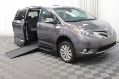 Commercial Wheelchair Vans for Sale - 2017 Toyota Sienna XLE ADA Compliant Vehicle VIN: 5TDYZ3DC2HS843415