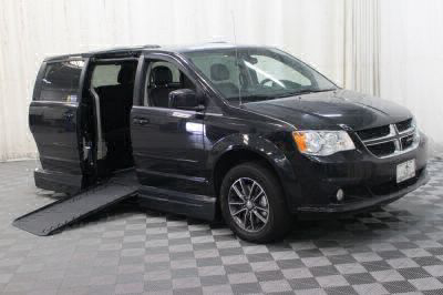 Handicap Van for Sale - 2017 Dodge Grand Caravan SXT Wheelchair Accessible Van VIN: 2C4RDGCG1HR692414