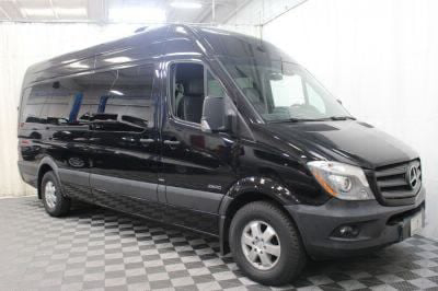 Commercial Wheelchair Vans for Sale - 2016 Mercedes-Benz Sprinter 2500 170 WB ADA Compliant Vehicle VIN: WDZPE8CD9GP215245
