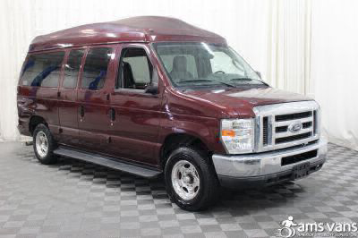 Commercial Wheelchair Vans for Sale - 2010 Ford E-Series Wagon E-150 XLT ADA Compliant Vehicle VIN: 1FMNE1BL4ADA26000