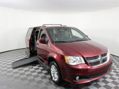 Handicap Van for Sale - 2019 Dodge Grand Caravan SXT Wheelchair Accessible Van VIN: 2C4RDGCG3KR559032
