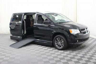 Handicap Van for Sale - 2017 Dodge Grand Caravan SXT Wheelchair Accessible Van VIN: 2C4RDGCG9HR600238