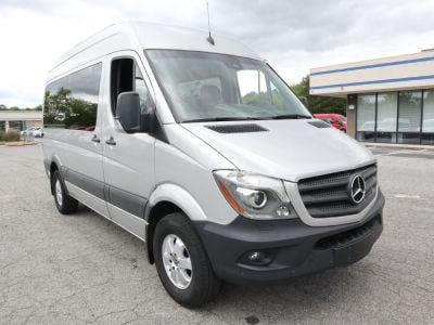 New Wheelchair Van for Sale - 2018 Mercedes-Benz Sprinter Passenger 2500 Wheelchair Accessible Van VIN: 8BRPE7CD7JE154974