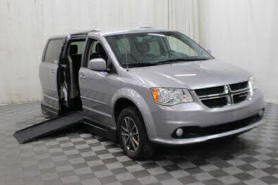 Commercial Wheelchair Vans for Sale - 2017 Dodge Grand Caravan SXT ADA Compliant Vehicle VIN: 2C4RDGCG5HR780785