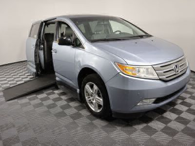 Used Wheelchair Van for Sale - 2011 Honda Odyssey Touring Wheelchair Accessible Van VIN: 5FNRL5H99BB021156