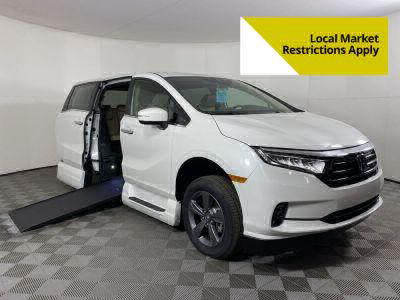 Handicap Van for Sale - 2021 Honda Odyssey EX Wheelchair Accessible Van VIN: 5FNRL6H54MB024102