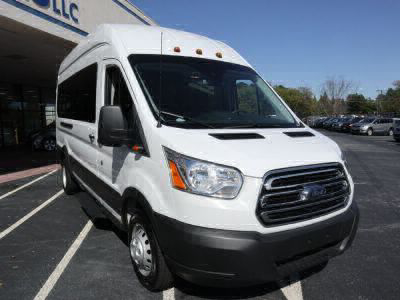 New Wheelchair Van for Sale - 2019 Ford Transit Passenger High Roof 350 HD XLT - 15 Wheelchair Accessible Van VIN: 1FBVU4XM3KKB02804