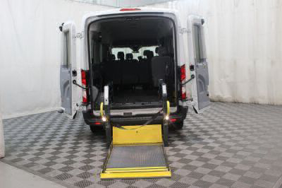 Commercial Wheelchair Vans for Sale - 2017 Ford Transit Passenger 350 XLT ADA Compliant Vehicle VIN: 1FBAX2CM1HKA97546