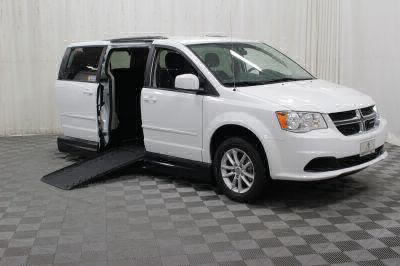Handicap Van for Sale - 2016 Dodge Grand Caravan SXT Wheelchair Accessible Van VIN: 2C4RDGCG0GR361869