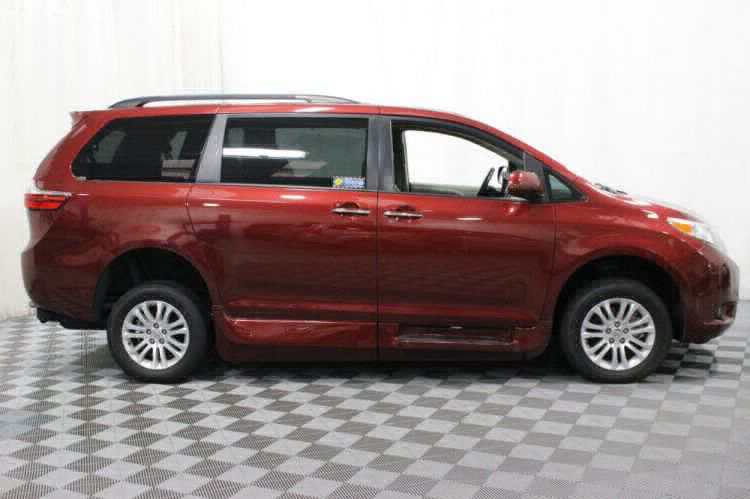 2016 Toyota Sienna XLE Wheelchair Van For Sale #11