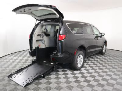 Commercial Wheelchair Vans for Sale - 2020 Chrysler Voyager LX ADA Compliant Vehicle VIN: 2C4RC1CG5LR250051
