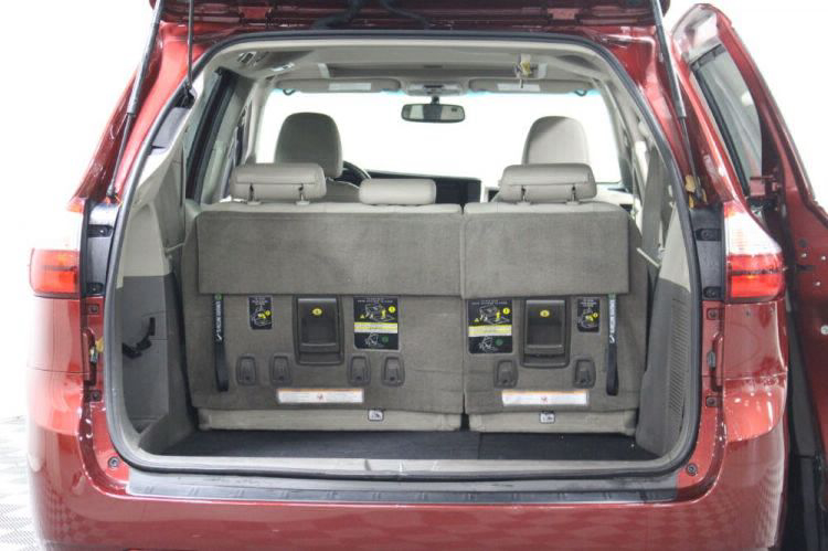 2016 Toyota Sienna XLE Wheelchair Van For Sale #6