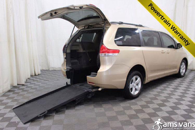 2011 Toyota Sienna LE Wheelchair Van For Sale #1
