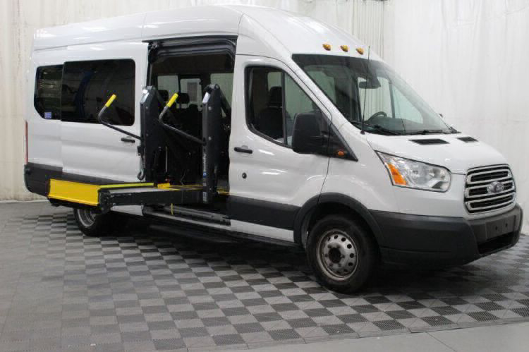 2018 Ford Transit Passenger 350 XLT 15 Wheelchair Van For Sale #5