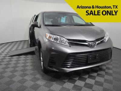 Handicap Van for Sale - 2019 Toyota Sienna LE Standard Wheelchair Accessible Van VIN: 5TDKZ3DC8KS009257