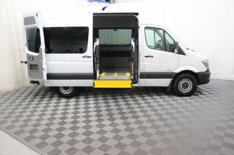 2016 Mercedes-Benz Sprinter 2500 144 WB Wheelchair Van For Sale #9
