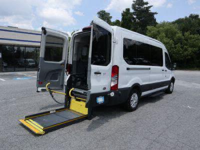 Commercial Wheelchair Vans for Sale - 2019 Ford Transit Passenger 350 XLT ADA Compliant Vehicle VIN: 1FBAX2CM9KKA41278