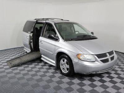 Used Wheelchair Van for Sale - 2007 Dodge Grand Caravan SXT Wheelchair Accessible Van VIN: 2D4GP44L47R313075