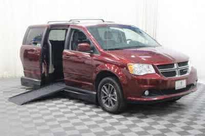 Handicap Van for Sale - 2017 Dodge Grand Caravan SXT Wheelchair Accessible Van VIN: 2C4RDGCG2HR800393