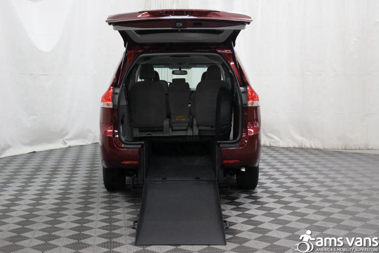 2011 Toyota Sienna LE Wheelchair Van For Sale #2