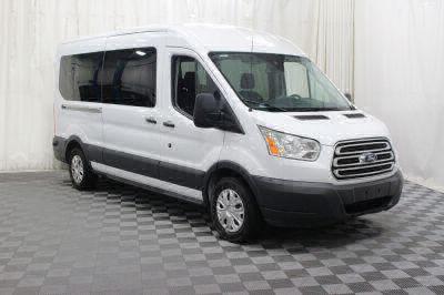 Commercial Wheelchair Vans for Sale - 2016 Ford Transit Passenger 350 XLT 12 ADA Compliant Vehicle VIN: 1FBZX2CM9GKA86523