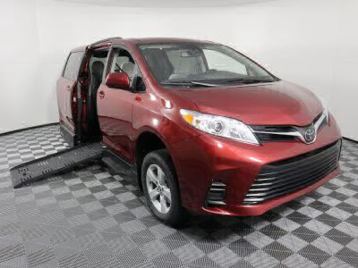 New Wheelchair Van for Sale - 2020 Toyota Sienna LE Standard Wheelchair Accessible Van VIN: 5TDKZ3DC7LS060699