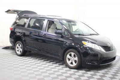 Commercial Wheelchair Vans for Sale - 2015 Toyota Sienna LE ADA Compliant Vehicle VIN: 5TDKK3DC6FS624206