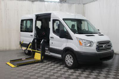 Commercial Wheelchair Vans for Sale - 2018 Ford Transit Passenger 350 XLT ADA Compliant Vehicle VIN: 1FBAX2CM1JKA85872