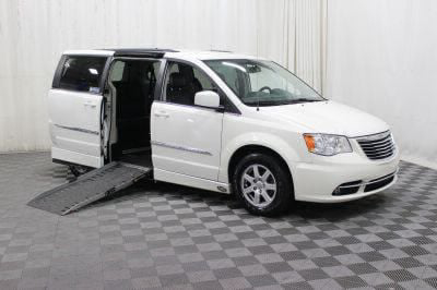 Used Wheelchair Van for Sale - 2012 Chrysler Town & Country Touring Wheelchair Accessible Van VIN: 2C4RC1BGXCR389951