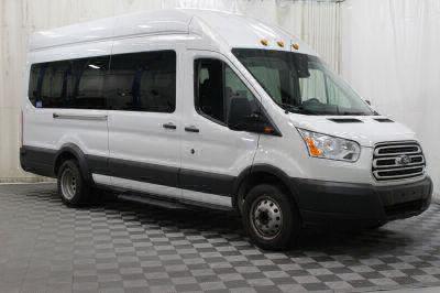Commercial Wheelchair Vans for Sale - 2018 Ford Transit Passenger 350 XLT 15 ADA Compliant Vehicle VIN: 1FBVU4XM0JKA48523