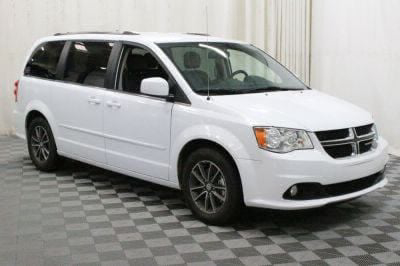 Commercial Wheelchair Vans for Sale - 2017 Dodge Grand Caravan SXT ADA Compliant Vehicle VIN: 2C4RDGCG4HR867352