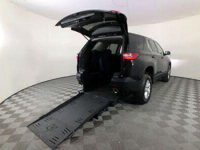 Used Wheelchair Van for Sale - 2018 Chevrolet Traverse LS Wheelchair Accessible Van VIN: 1GNERFKW9JJ160820