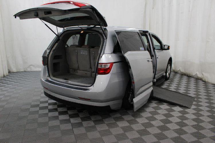 2012 Honda Odyssey Touring Elite Wheelchair Van For Sale #2