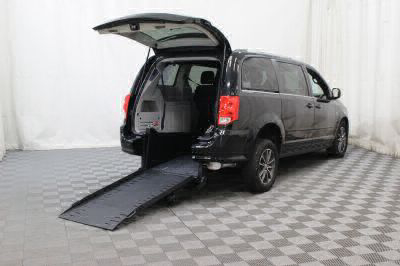 Commercial Wheelchair Vans for Sale - 2017 Dodge Grand Caravan SXT ADA Compliant Vehicle VIN: 2C4RDGCG3HR574204