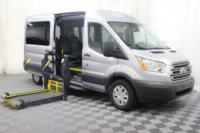 Commercial Wheelchair Vans for Sale - 2017 Ford Transit Wagon 350 XLT 15 ADA Compliant Vehicle VIN: 1FBAX2CM3HKB13844