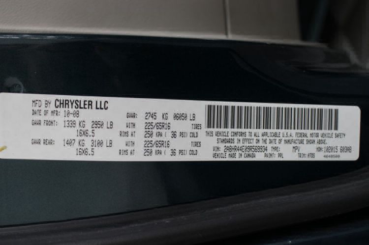 2009 Chrysler Town and Country LX Wheelchair Van For Sale #32