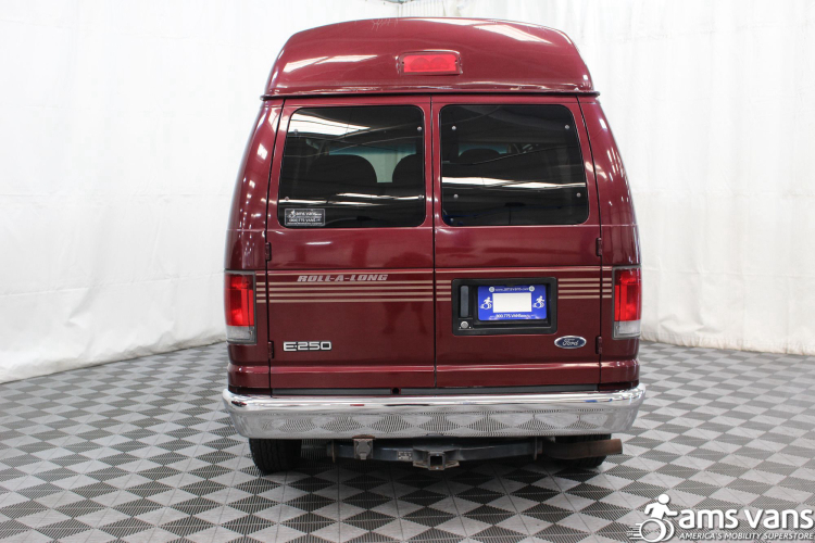 2005 Ford E-Series Chassis E-250 SD Wheelchair Van For Sale #16