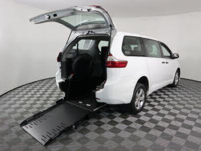 Commercial Wheelchair Vans for Sale - 2017 Toyota Sienna L ADA Compliant Vehicle VIN: 5TDZZ3DC8HS776498