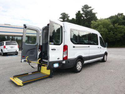 Commercial Wheelchair Vans for Sale - 2019 Ford Transit Passenger 350 XLT ADA Compliant Vehicle VIN: 1FBAX2CMXKKA36591