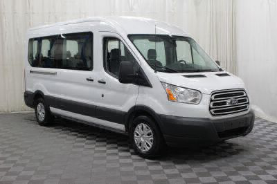 Commercial Wheelchair Vans for Sale - 2018 Ford Transit Passenger 350 XLT 15 ADA Compliant Vehicle VIN: 1FBAX2CM5JKA67777