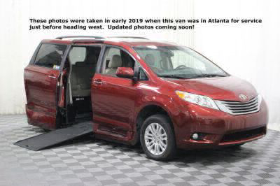 Used Wheelchair Van for Sale - 2016 Toyota Sienna XLE Wheelchair Accessible Van VIN: 5TDYK3DCXGS707388