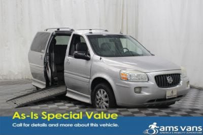 Used Wheelchair Van for Sale - 2006 Buick Terraza CXL Wheelchair Accessible Van VIN: 4GLDV13186D246310