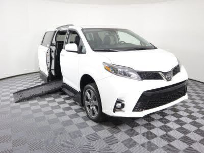 Handicap Van for Sale - 2019 Toyota Sienna SE Wheelchair Accessible Van VIN: 5TDXZ3DC6KS985656
