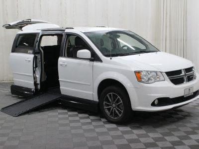 Handicap Van for Sale - 2017 Dodge Grand Caravan SXT Wheelchair Accessible Van VIN: 2C4RDGCG4HR724448