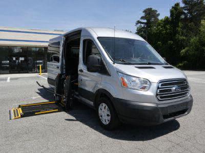 Commercial Wheelchair Vans for Sale - 2019 Ford Transit Passenger 350 XL ADA Compliant Vehicle VIN: 1FBAX2CM3KKA47562