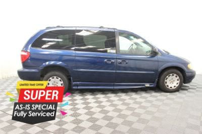 Used Wheelchair Van for Sale - 2002 Chrysler Town & Country LX Wheelchair Accessible Van VIN: 2C4GP44312R759819