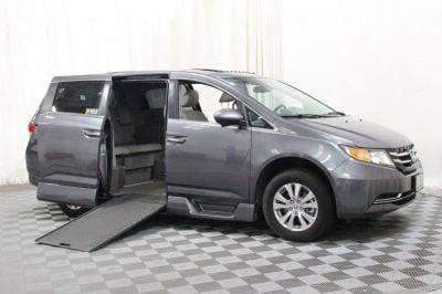 Handicap Van for Sale - 2016 Honda Odyssey EX-L Wheelchair Accessible Van VIN: 5FNRL5H68GB048037