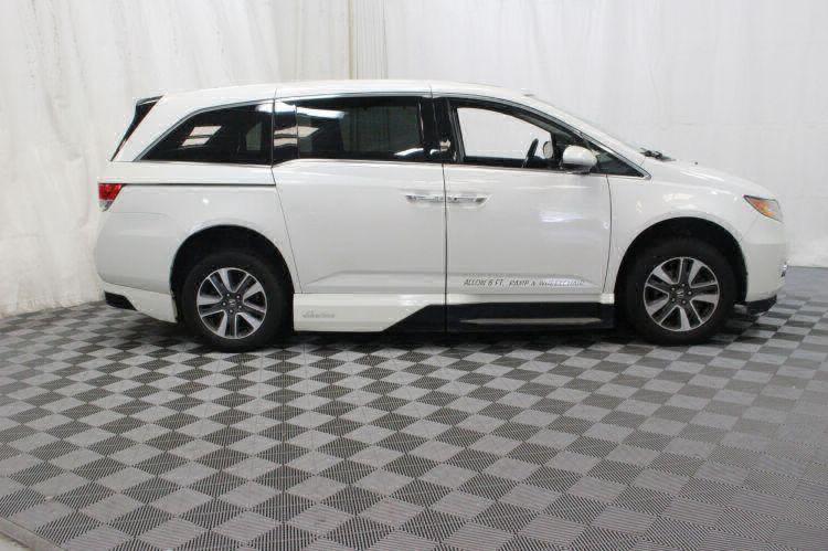2014 Honda Odyssey Touring Elite Wheelchair Van For Sale #10